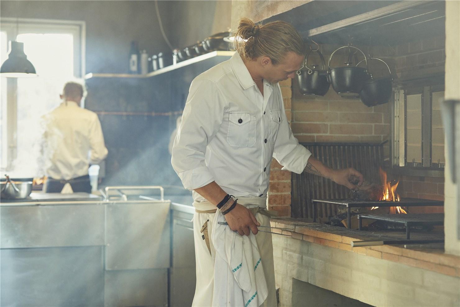 Kentaur Kochschürze und Kochhemd