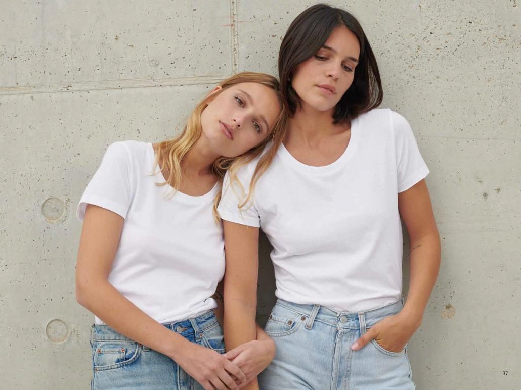 Stanley/Stella Basic White T-Shirts