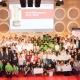 Die Preisträger bei der Verleihung des Würth Bildungspreises in Stuttgart.
